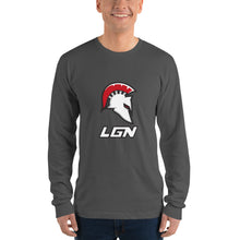 Load image into Gallery viewer, Legion Helm and Logo Long sleeve t-shirt