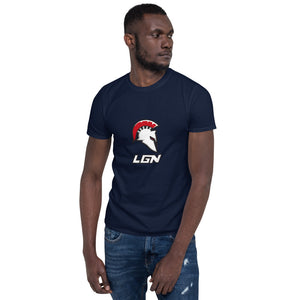 Legion Helm and Text Short-Sleeve Unisex T-Shirt