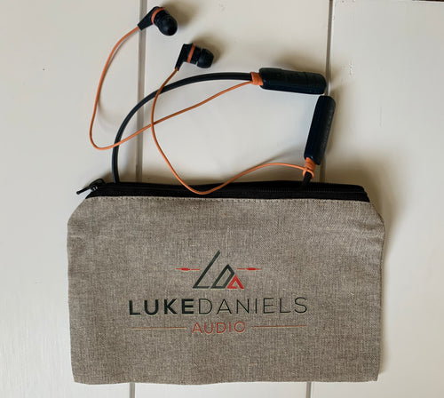 Luke Daniels Audio Zipper Pouch