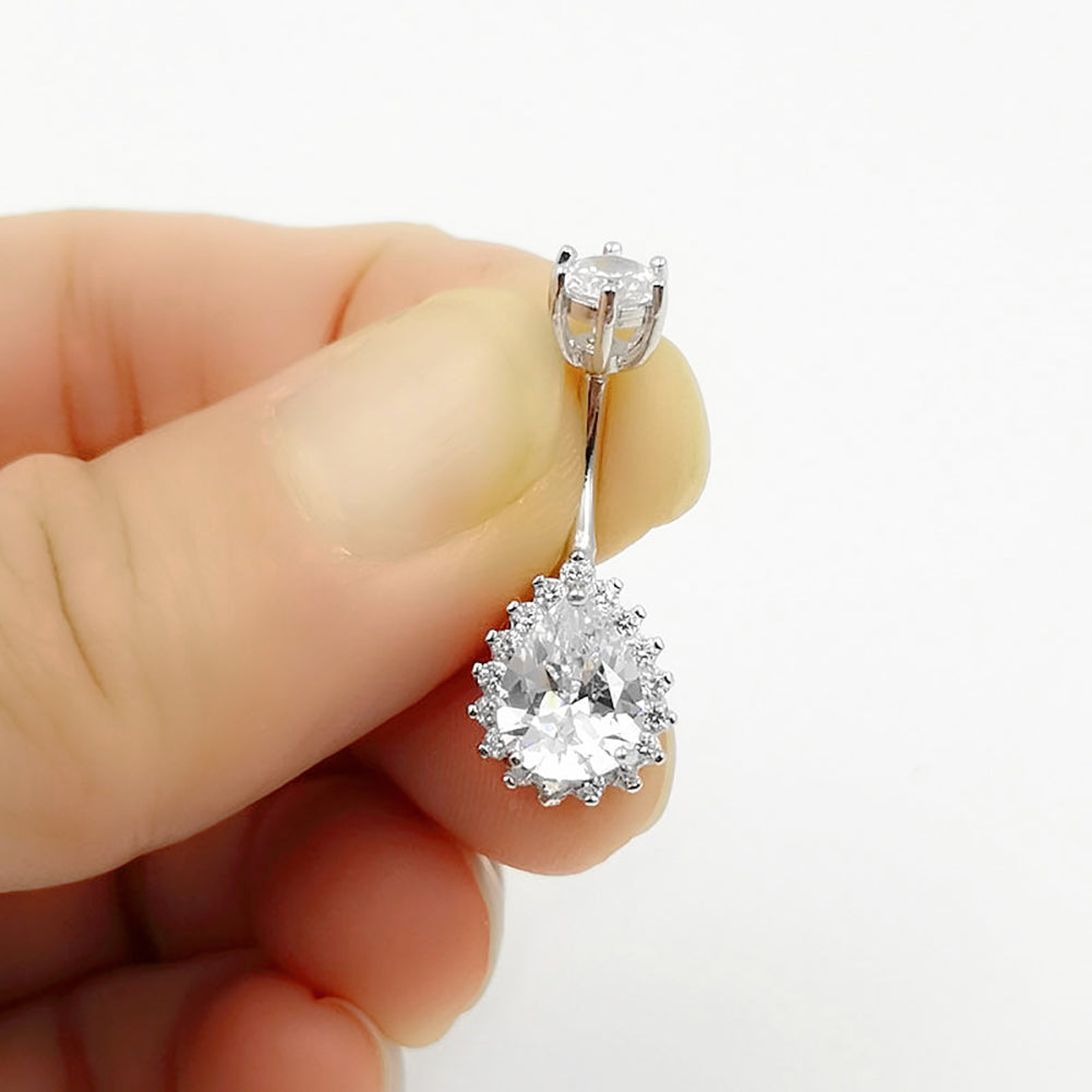 925 Sterling Silver Belly Rings SS4
