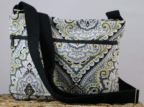 Purana Graphite Crossbody Bag