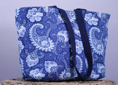 Little Falls Indigo Medium Day Bag