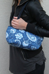 Little Falls Indigo Clutch - Model