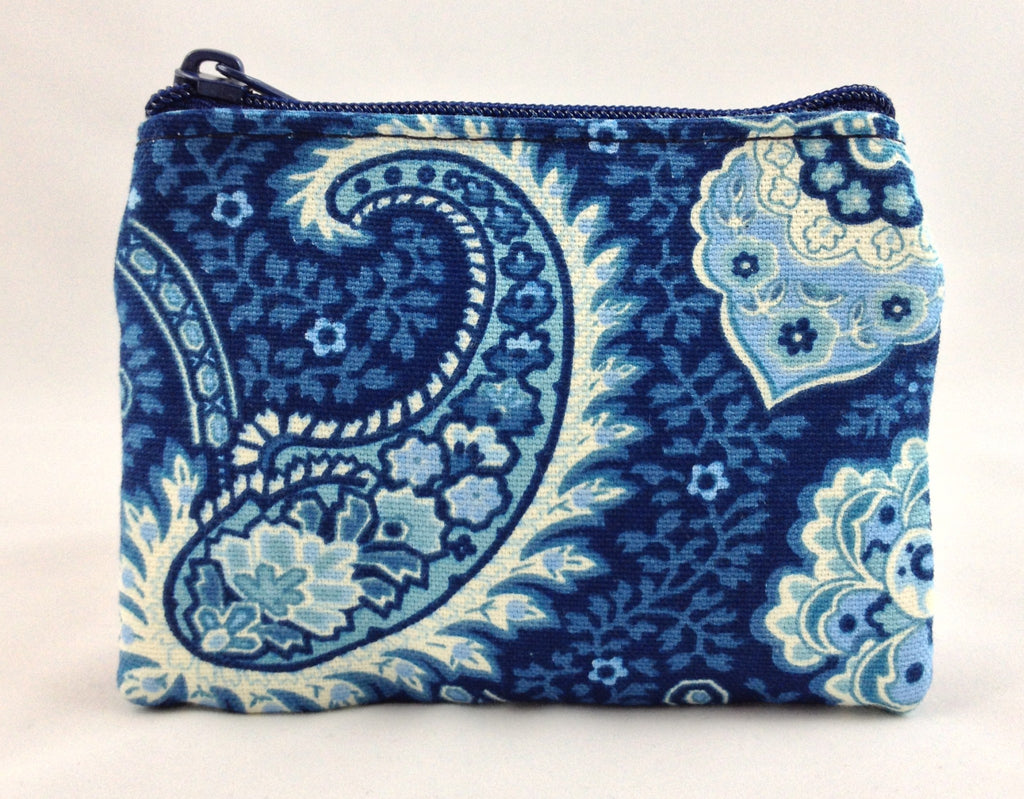Little Falls Indigo Coin Purse