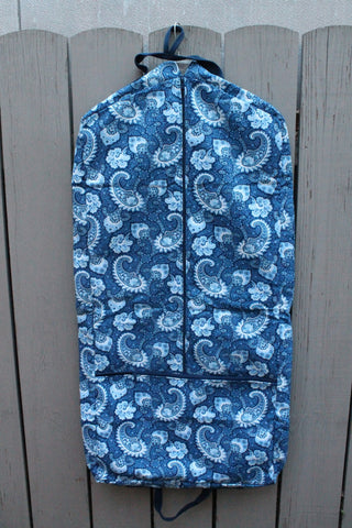 Little Falls Indigo Garment Bag