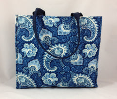 Little Falls Indigo Small Shopper