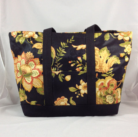 Romanza Midnight Large Tote