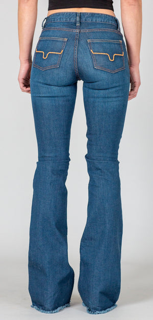 Kimes Lola with Raw Hem Jeans