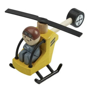 Helicopter with Pilot Toy