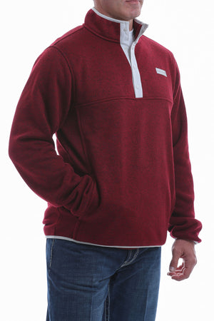 Cinch Burgundy Pullover