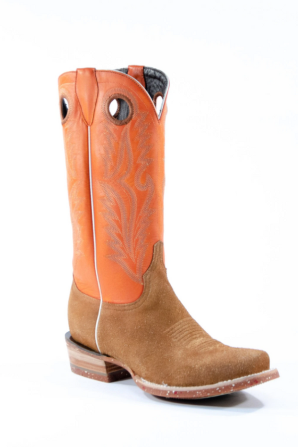Azulado Shane Cutter Toe Boot in Cognac