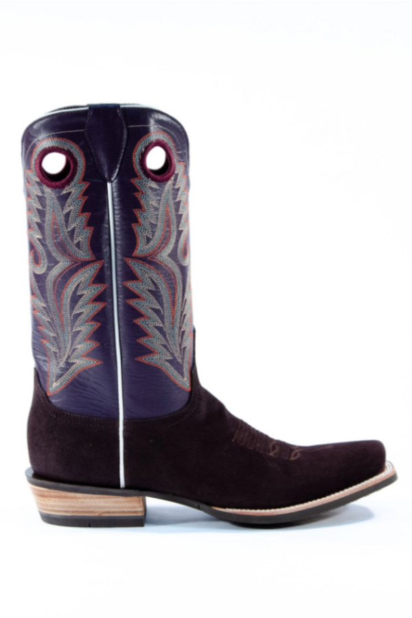 Azulado Shane Cutter Toe Boot in Chocolate