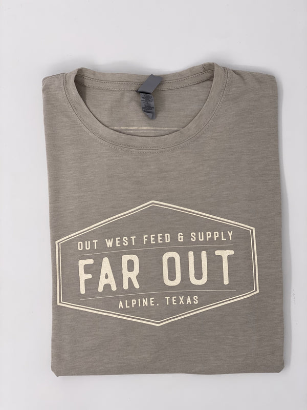 FAR OUT TSHIRT - Grey