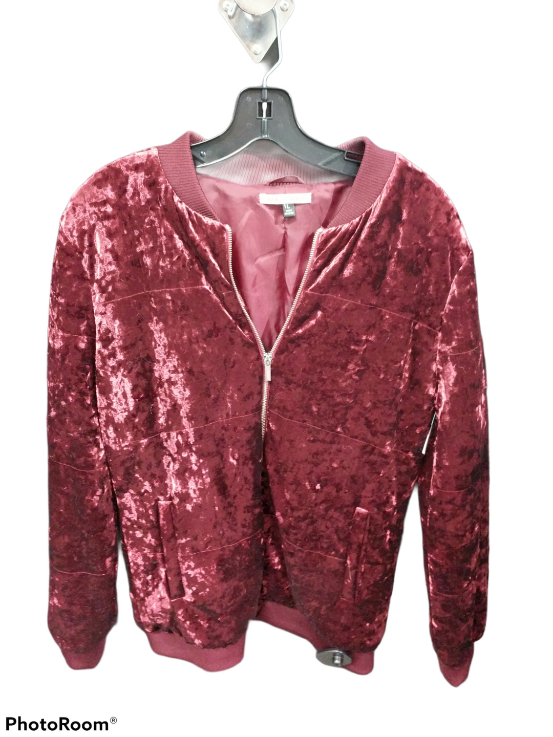 Primary Photo - brand:    clothes mentor , style: jacket outdoor , color: red , size: l , other info: pink and sophia - , sku: 267-26790-11398