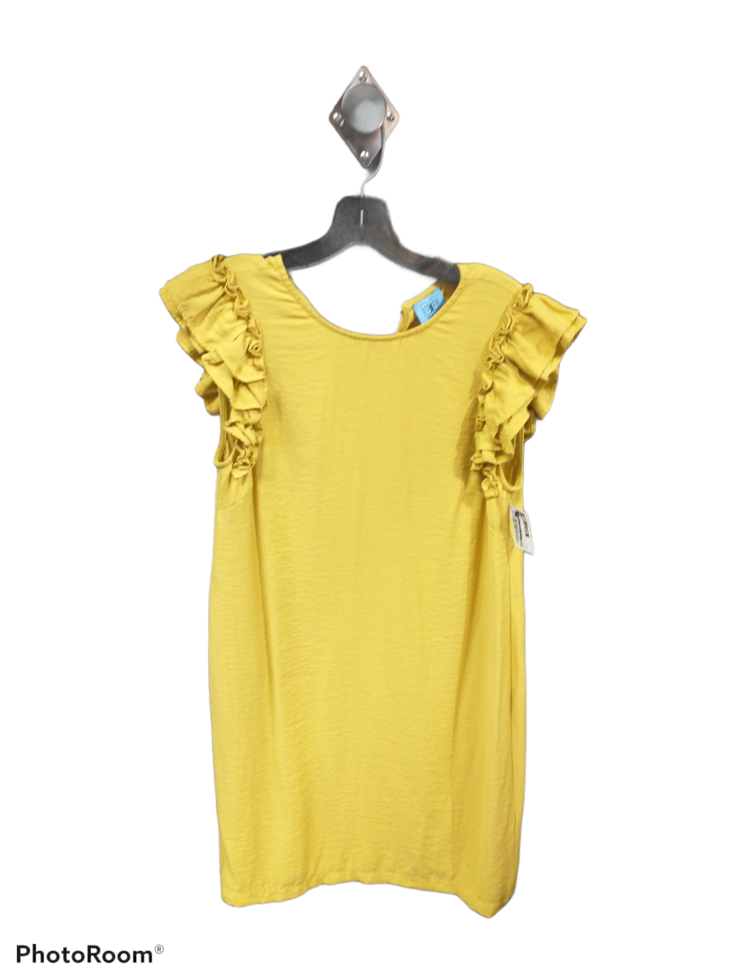 Primary Photo - brand: cece , style: dress short short sleeve , color: yellow , size: s , sku: 267-26790-13925
