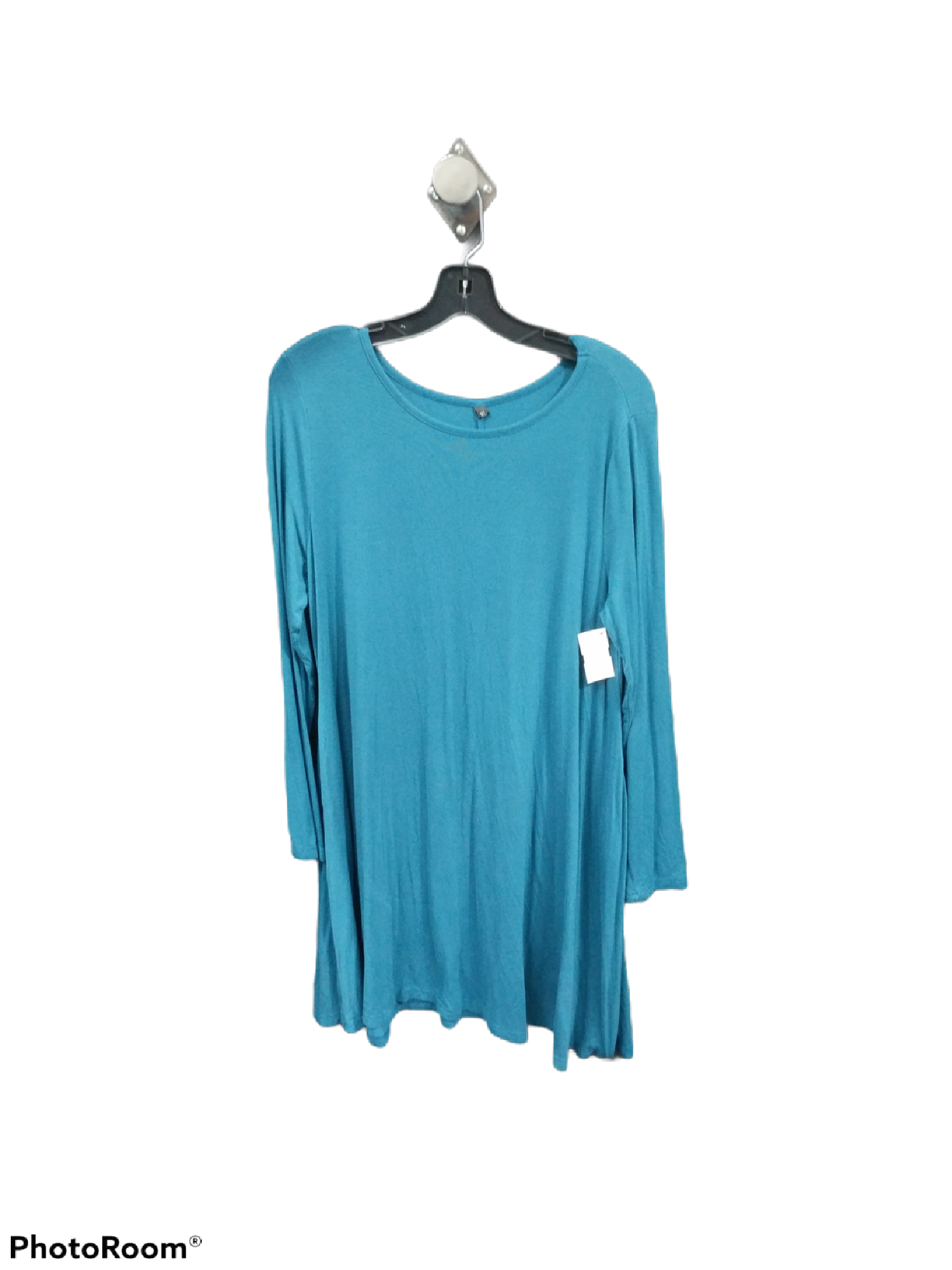 Primary Photo - brand:    clothes mentor , style: dress short long sleeve , color: blue , size: xl , sku: 267-26790-7116