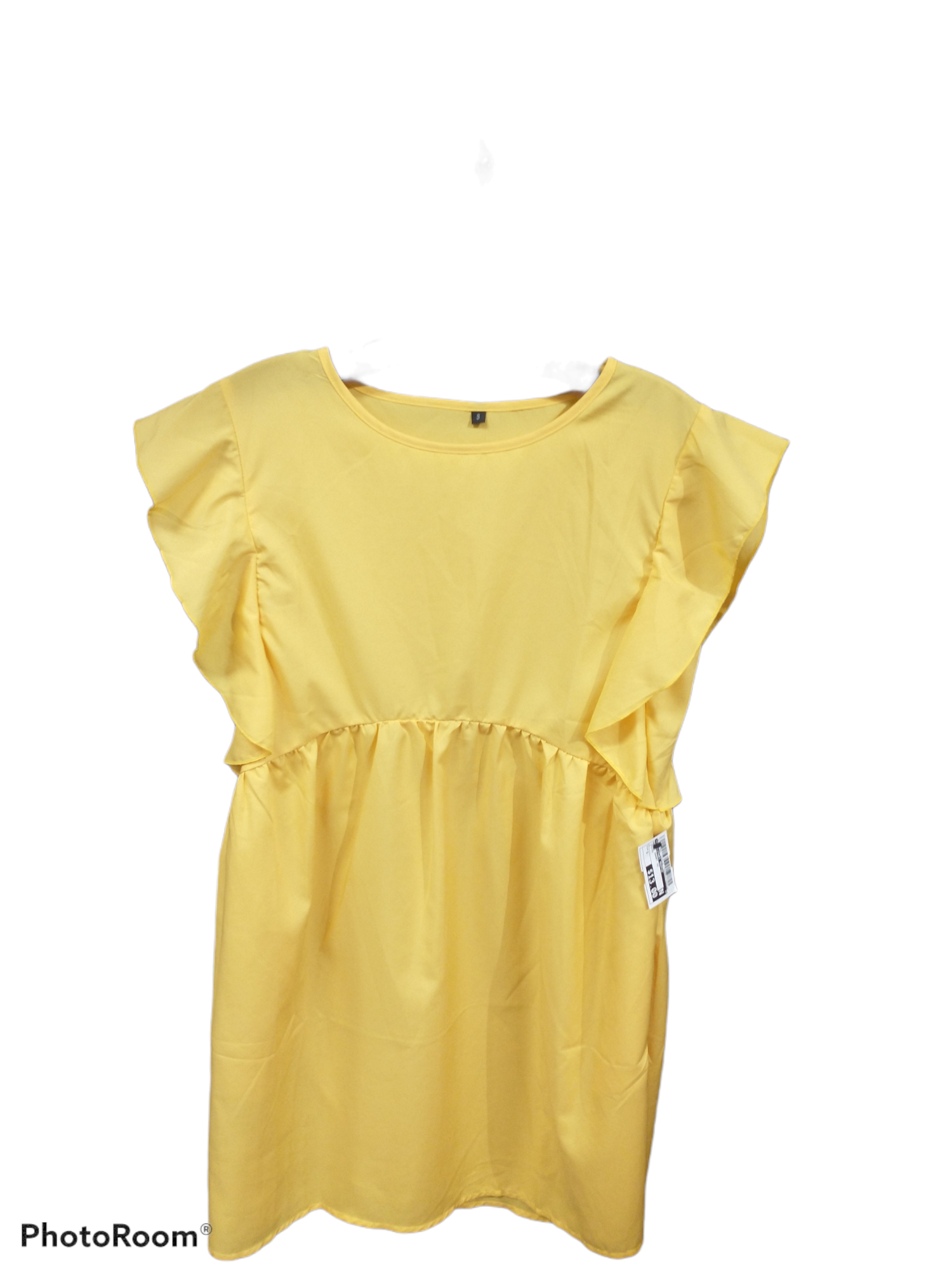 Primary Photo - brand:    clothes mentor , style: dress short short sleeve , color: yellow , size: s , sku: 267-26790-12465