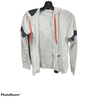 Primary Photo - BRAND: UNDER ARMOUR STYLE: ATHLETIC JACKET COLOR: WHITE SIZE: S SKU: 267-26793-5197