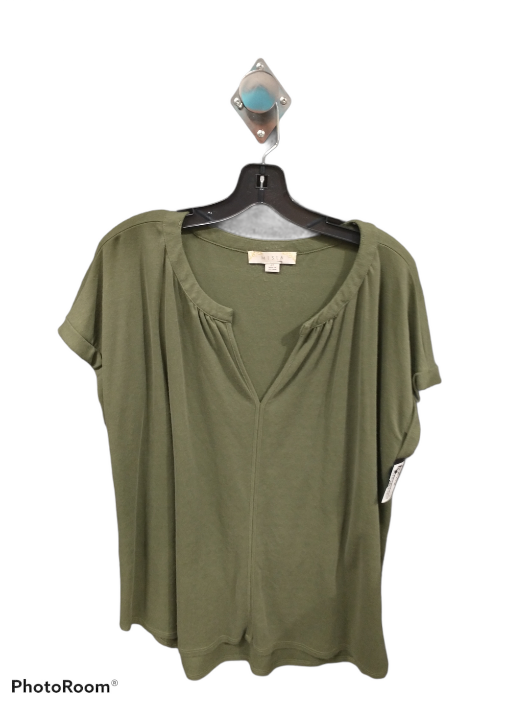 Primary Photo - brand: misia , style: top short sleeve , color: green , size: 2x , sku: 267-26790-14397