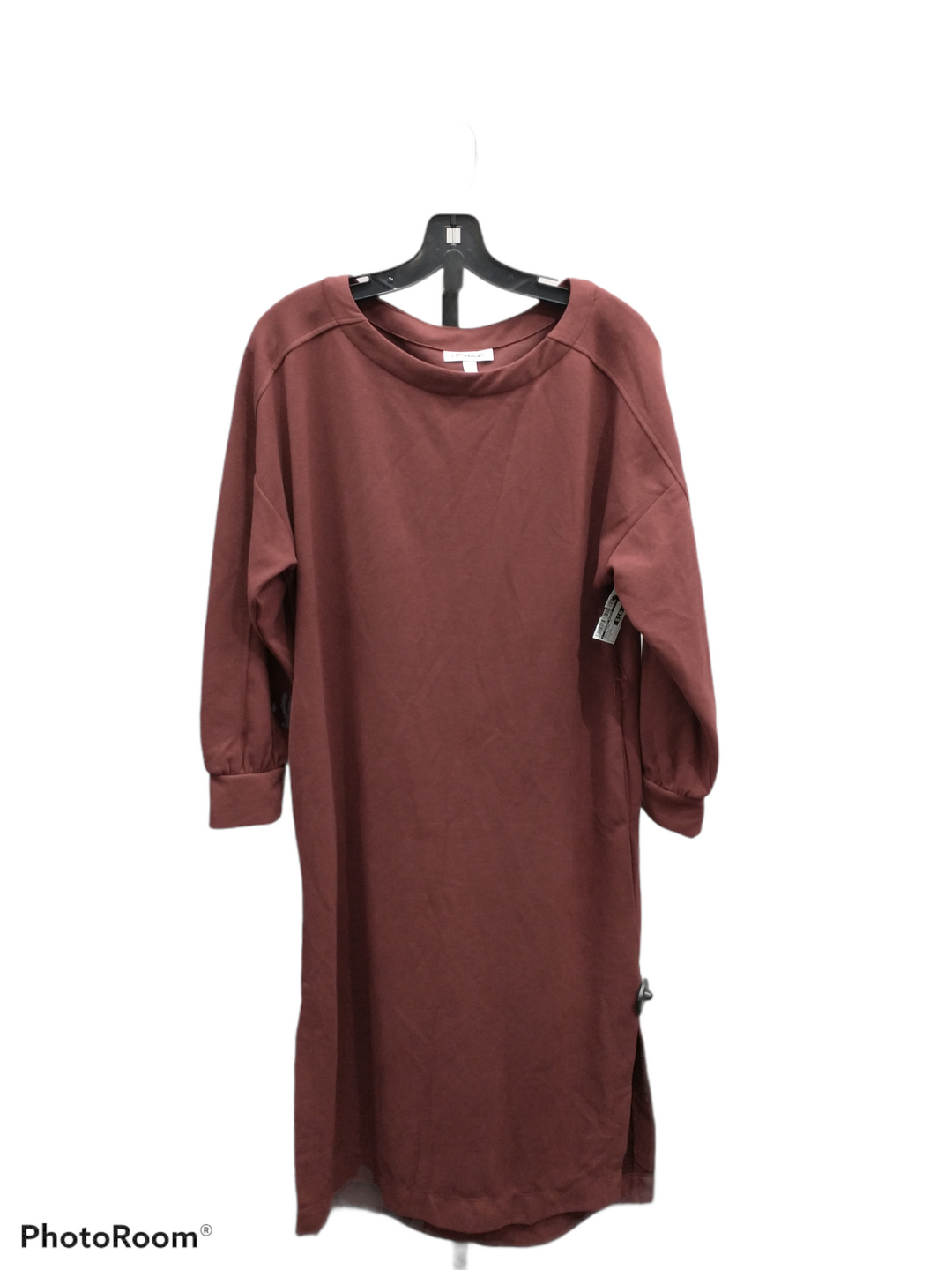 Primary Photo - brand:    clothes mentor , style: dress long long sleeve , color: burgundy , size: s , other info: prologue - , sku: 267-26793-6171