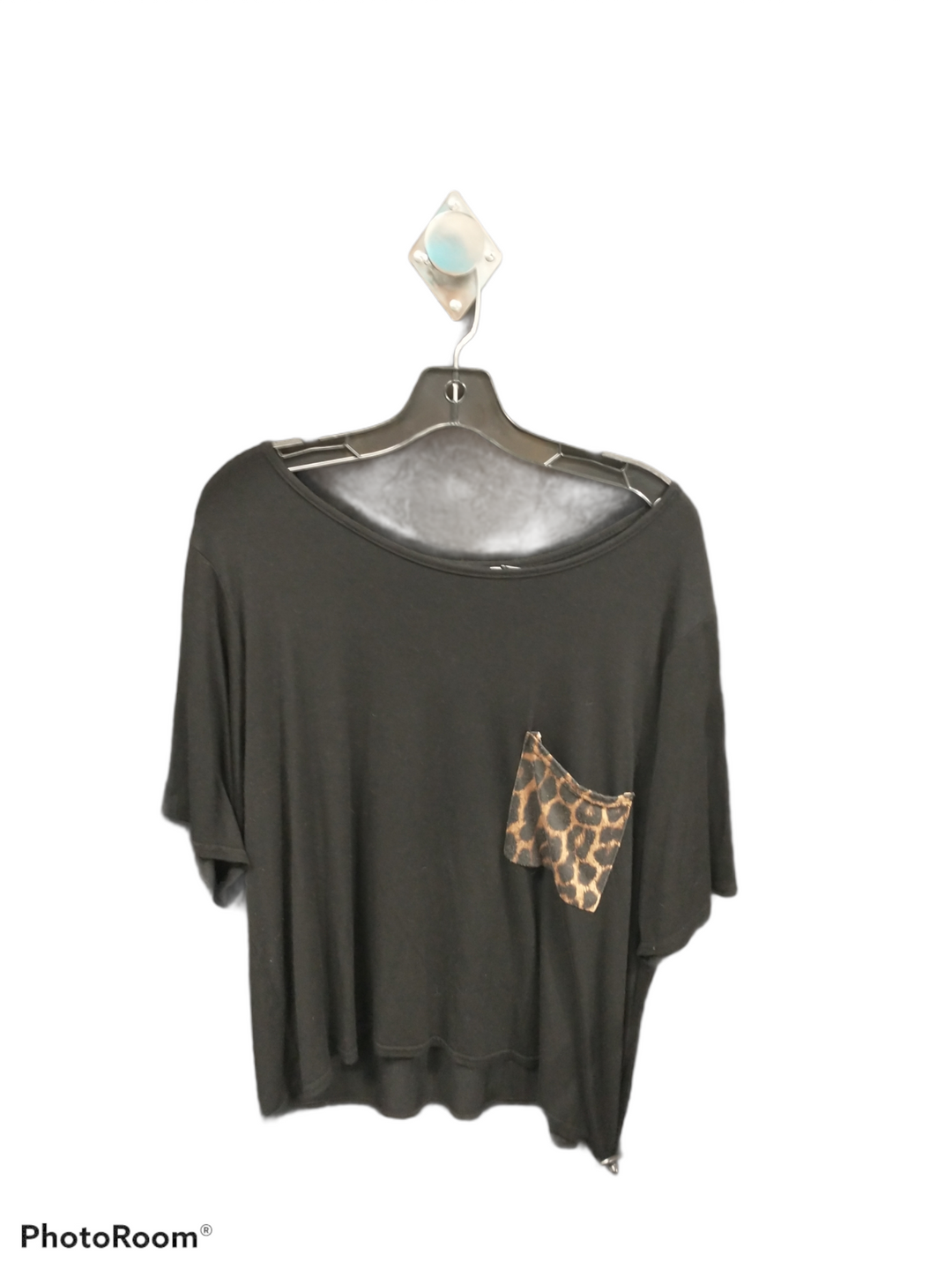 Primary Photo - brand: boohoo boutique , style: top short sleeve , color: black , size: 2x , sku: 267-26790-4491