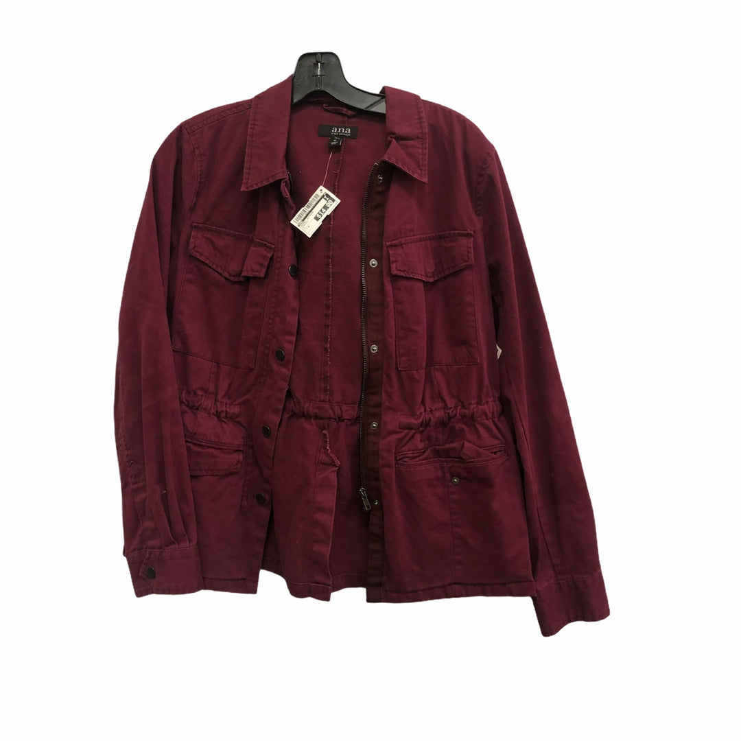Primary Photo - brand: ana , style: jacket outdoor , color: burgundy , size: m , sku: 267-26793-896