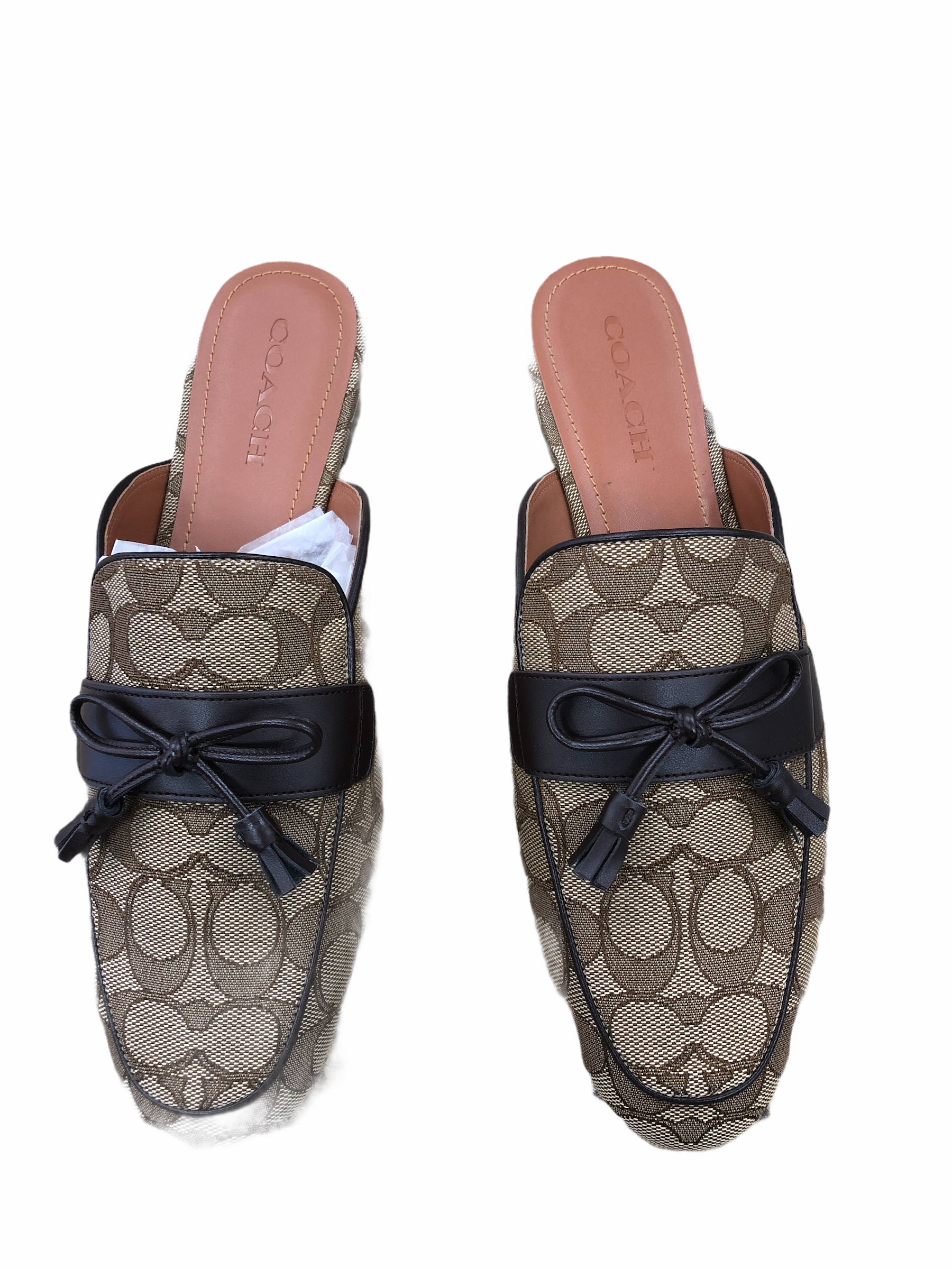Primary Photo - brand: coach , style: sandals flat , color: brown , size: 11 , sku: 267-26790-14985