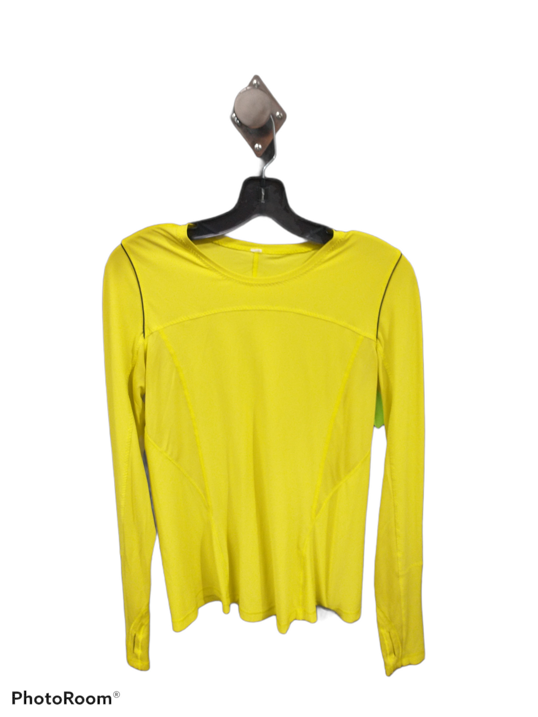 Primary Photo - brand: lululemon , style: athletic top , color: yellow , size: 4 , sku: 267-26793-9432