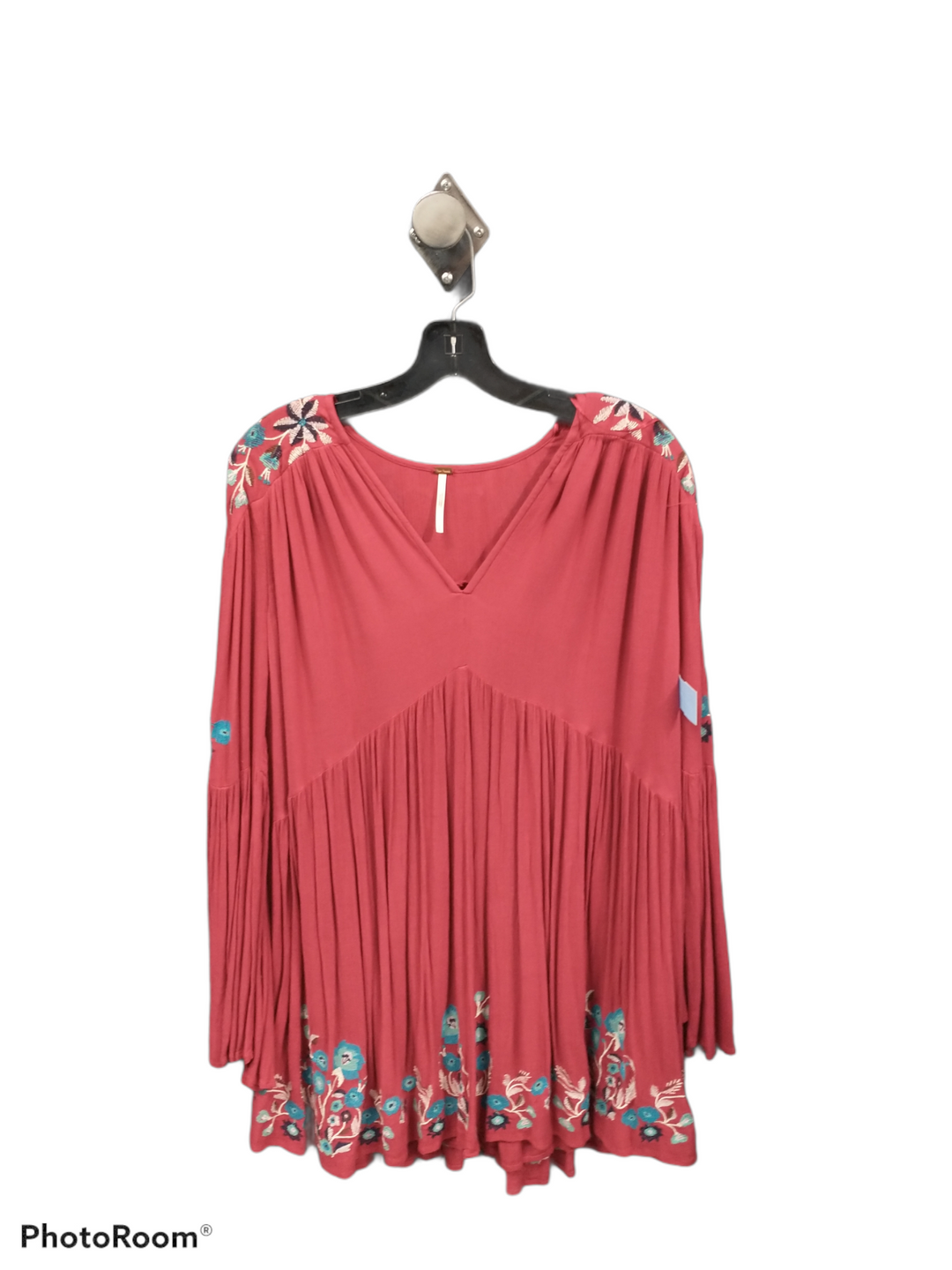 Primary Photo - brand: free people , style: dress short long sleeve , color: red , size: s , sku: 267-26790-11102