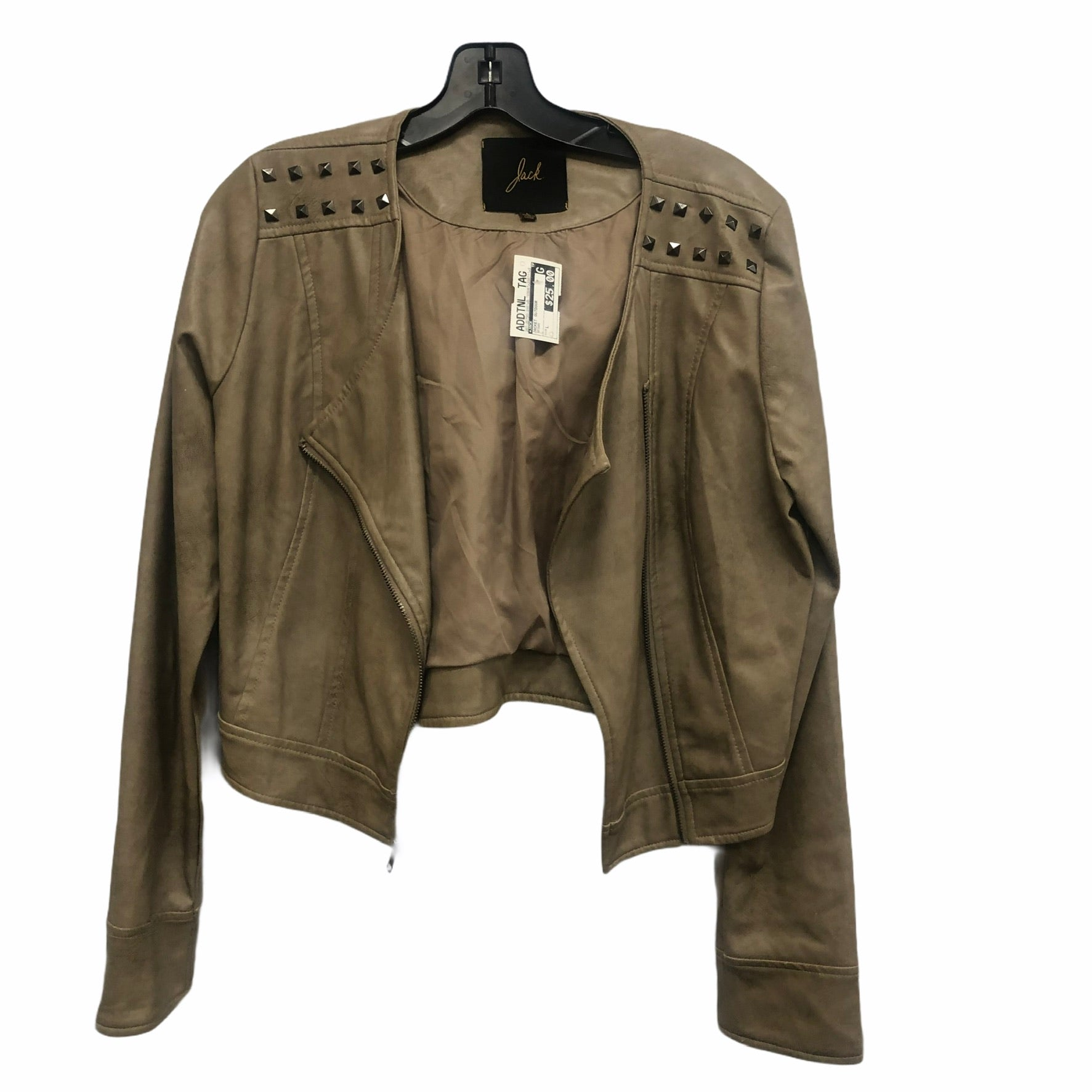 Primary Photo - brand: jack , style: jacket outdoor , color: brown , size: l , sku: 267-26790-3461