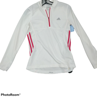 Primary Photo - BRAND: ADIDAS STYLE: ATHLETIC JACKET COLOR: WHITE SIZE: S SKU: 267-26793-5481