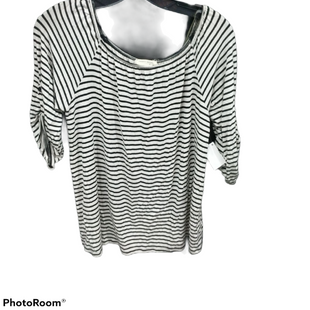 Primary Photo - BRAND: TWENTY SECOND STYLE: TOP LONG SLEEVE COLOR: WHITE BLACK SIZE: M SKU: 267-26790-6358