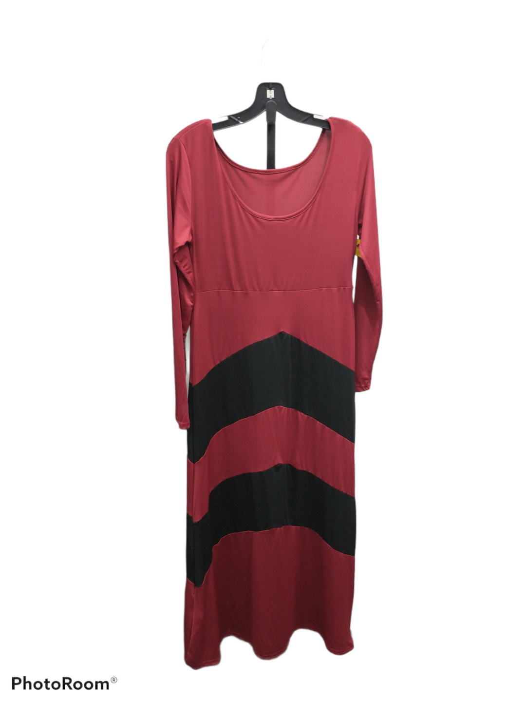 Primary Photo - brand:    clothes mentor , style: dress long long sleeve , color: black red , size: l , sku: 267-26793-3265