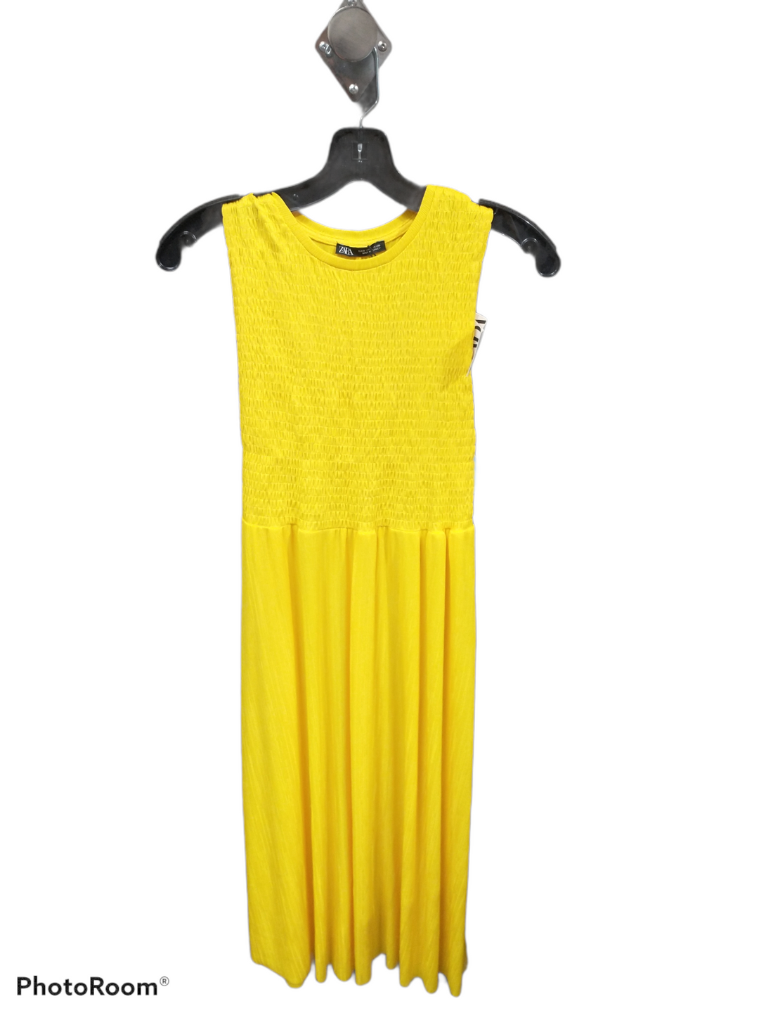 Primary Photo - brand: zara basic , style: dress long sleeveless , color: yellow , size: s , sku: 267-26790-13485