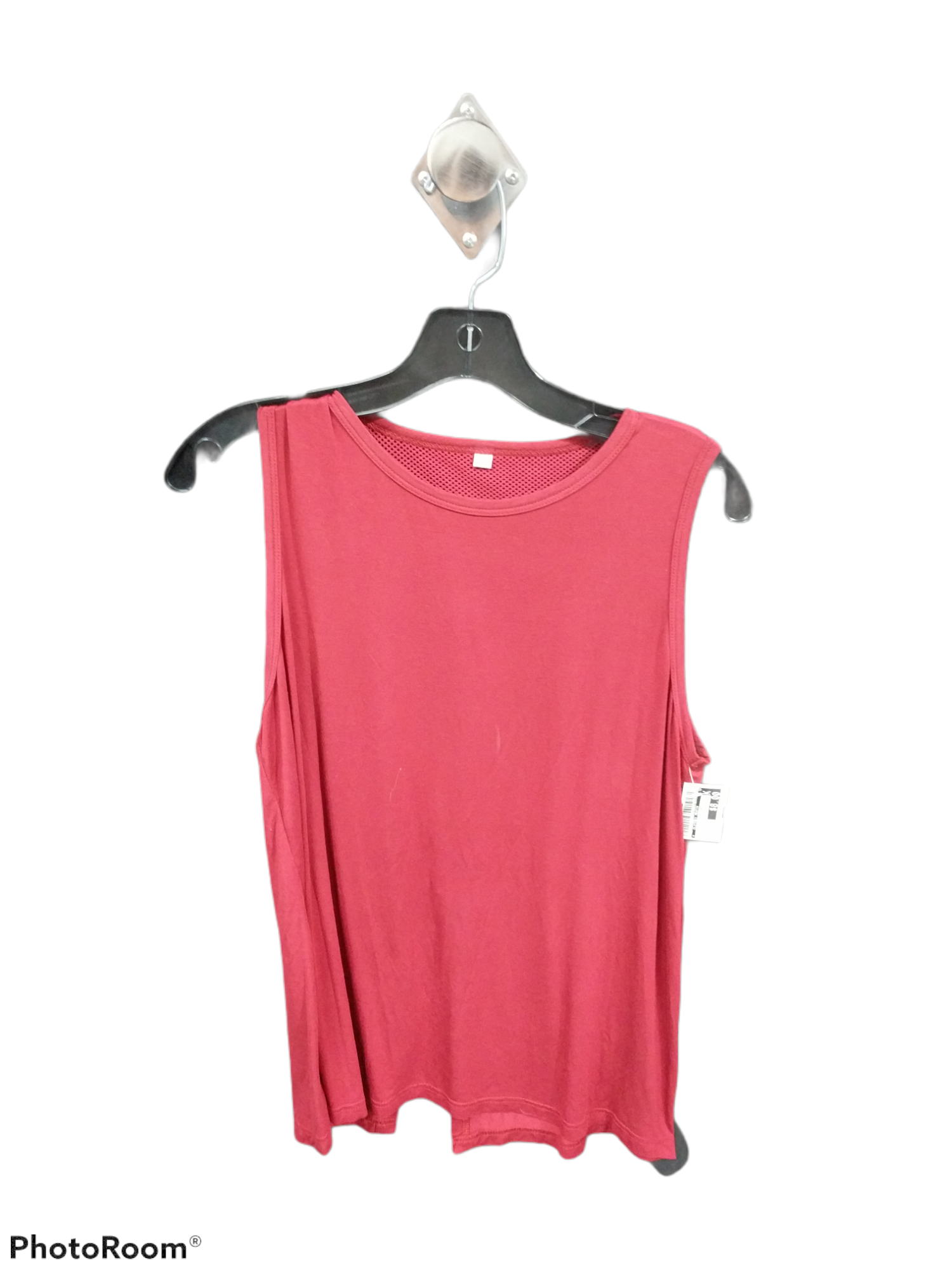 Primary Photo - brand:    clothes mentor , style: athletic tank top , color: red , size: l , sku: 267-26790-10252