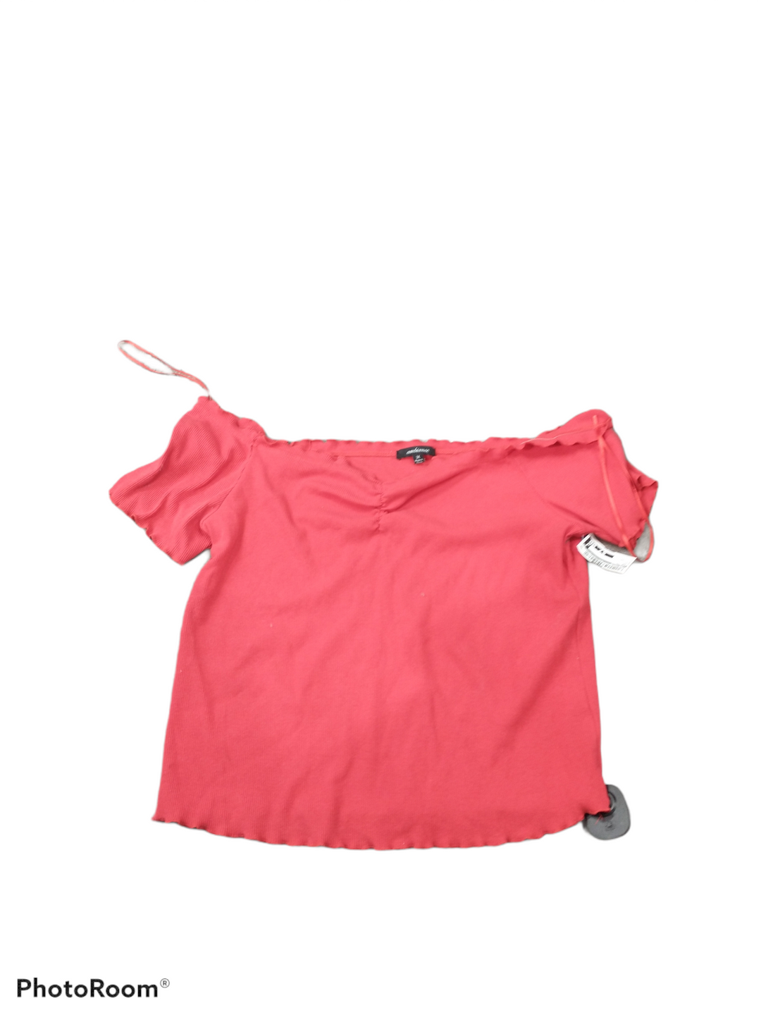 Primary Photo - brand: ambiance , style: top short sleeve , color: red , size: 3x , sku: 267-26793-1473