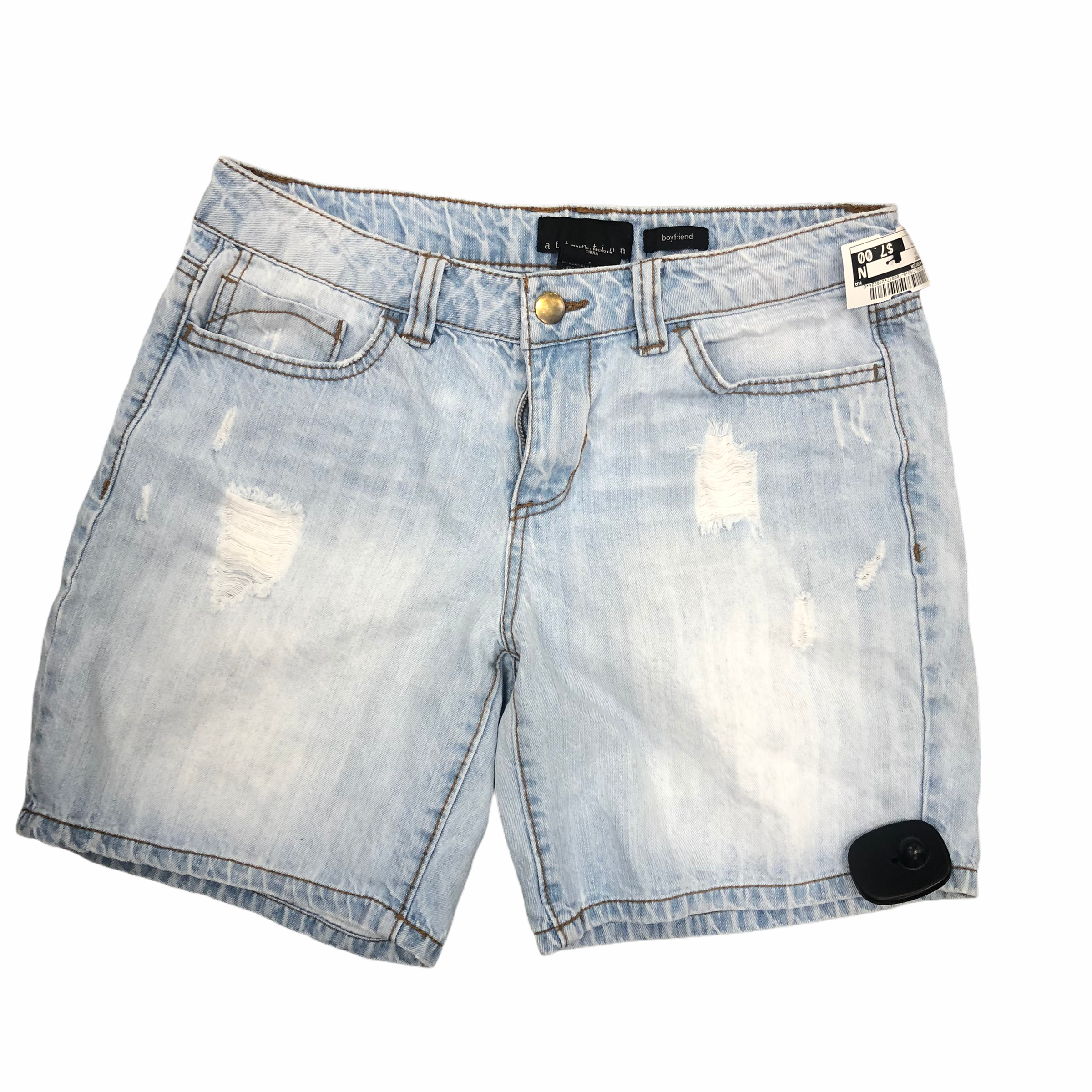 Primary Photo - brand: attention , style: shorts , color: denim , size: l, sku: 267-26793-7152