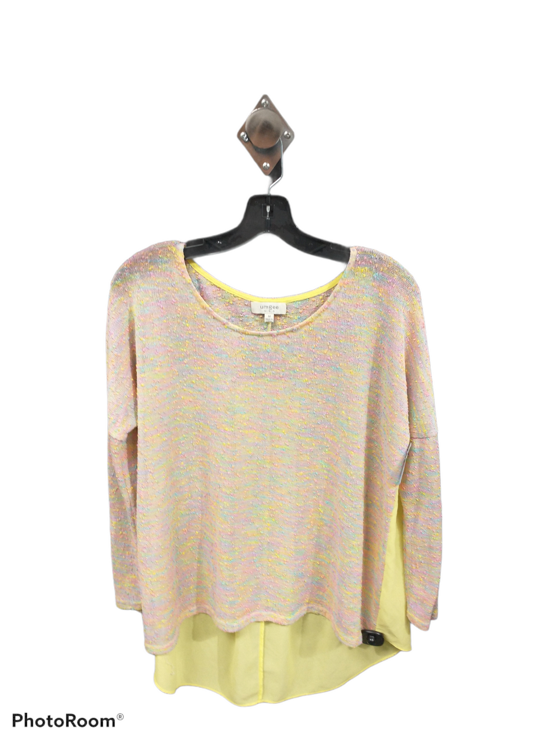 Primary Photo - brand: umgee , style: top long sleeve , color: yellow , size: m , sku: 267-26793-8387
