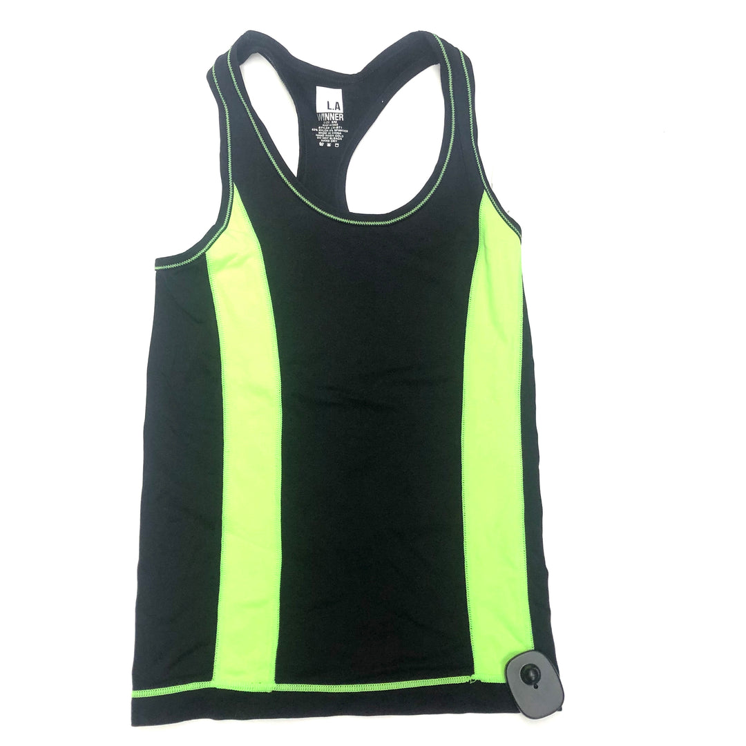 Primary Photo - brand:    clothes mentor , style: athletic tank top , color: black , size: s , other info: l.a winner - , sku: 267-26757-6907