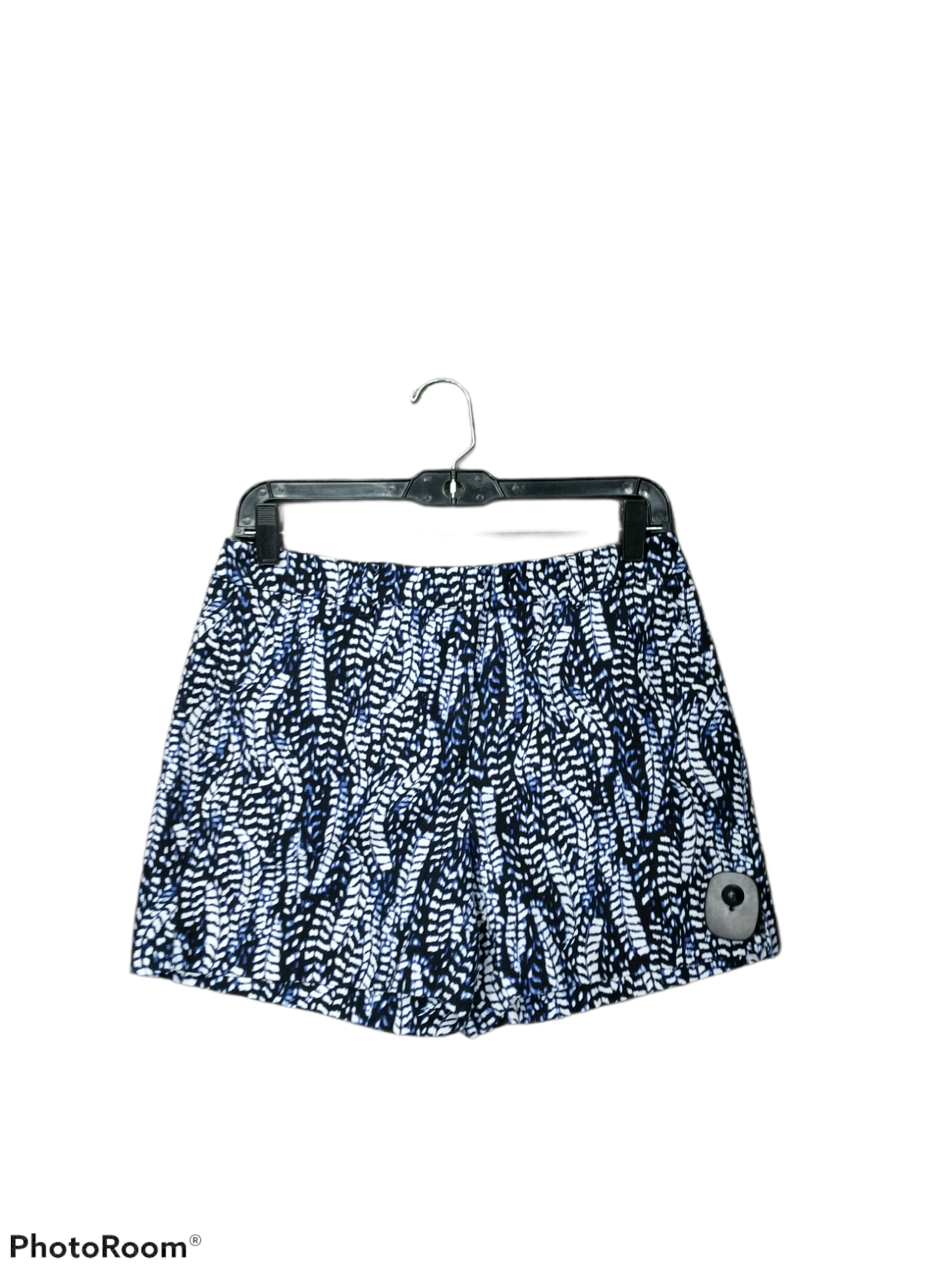 Primary Photo - brand: white house black market , style: shorts , color: blue white , size: 4 , sku: 267-26791-242