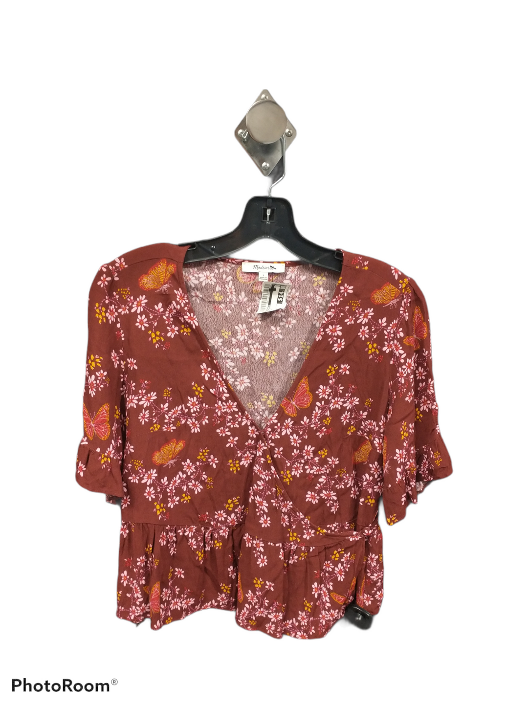 Primary Photo - brand: madewell , style: top short sleeve , color: floral , size: xs , sku: 267-26790-13952