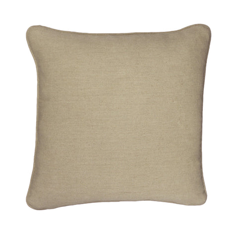 Backing Medium Natural Linen Square