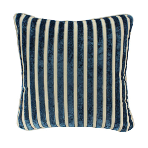 Upholstery Pillow Cover, Plushious Stripe Teal (20x20)