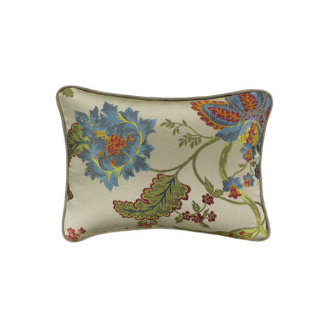 Jacquard Pillow Cover, Centella Chartreuse (12x16)