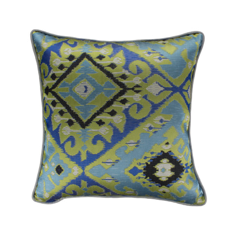 Jacquard Pillow Cover, Utopia Azul (18x18)