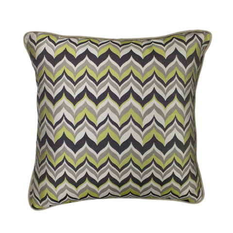 Jacquard Pillow Cover, Yo-yo Volcano (18x18)