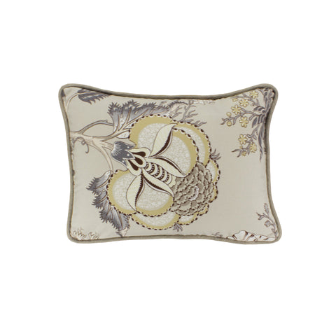 Cotton Pillow Cover, Darjeeling Bachette  (12x16)