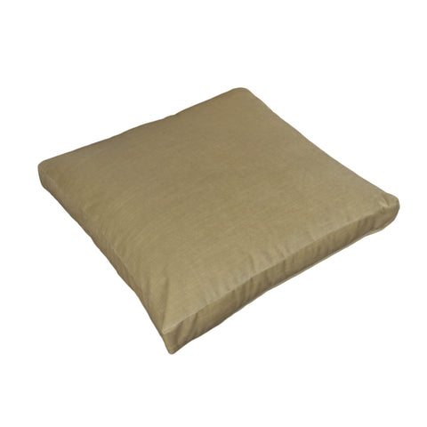 Cotton Velvet Pillow Cover, Oatmeal (18x18x2)