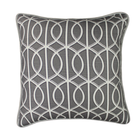 Cotton Pillow Cover, Bella Porte (18x18)