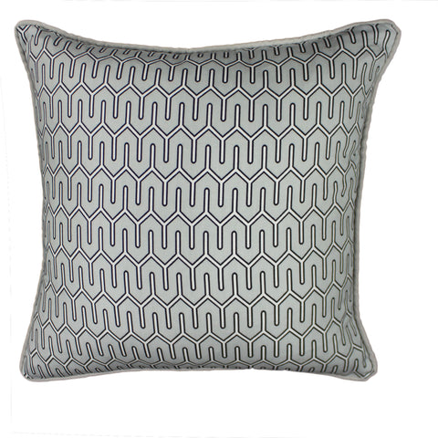 Cotton Pillow Cover, Dove Maze Work (18x18)